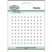 The Hobby House Self Adhesive Pearls - 3mm Ivory Silk - HH315